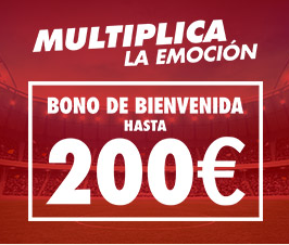 Sportium – Bono bienvenida de 100€ + 10€ Paysafecard