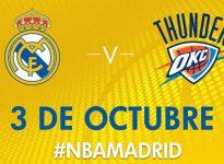 Apuesta baloncesto Amistoso Real Madrid vs Oklahoma City Thunder LIVE