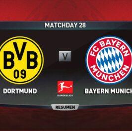 Borussia Dortmund vs Bayern Munich y mucho más en la Bundesliga